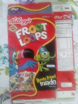 Froot Loops Monster Inc Cereal Box Kelloggs - $15.00