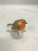 Vintage Goebel bird on branch figurine porcelain marked miniature 1976 - $42.56