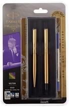 Parker Vector Roller Ball Pen & Ball Pen Combo Gift Set - Fine writing pens (GOL - $24.65