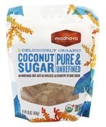 Madhava Honey - Coconut Sugar ( 6 - 16 oz bags) Coconut Sugar Case/Bulk - $54.11