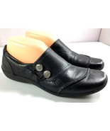 Naturalizer Women's First Black Leather Loafers Size 7.5 M Shoes - $40.01