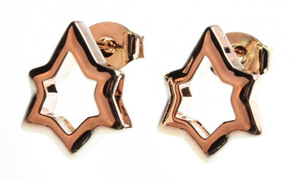 NEW Edison 14K Gold-Plated Shining Stars Stud Post Earrings NWT