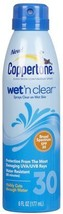 Coppertone Wet'N Clear C Spray SPF 30-6 oz4