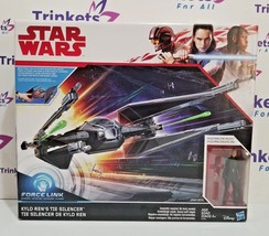 Star Wars Force Link Kylo Ren's Tie Silencer & Kylo Ren (Tie Pilot) Figure - $29.99