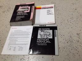 2000 TOYOTA SIENNA VAN Service Shop Repair Workshop Manual W Trans & Features Bk - $143.50