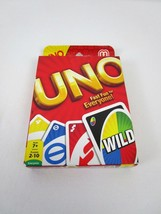 UNO Card Game Official Licensed Mattel Product 2 to 10 Players Complete NEW - $7.27