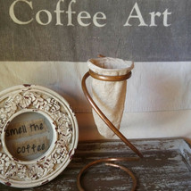 Coffee Sock and Pour Over Drip Stand - $45.00