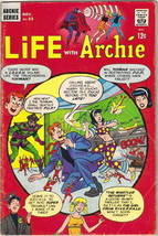 Life With Archie Comic Book #55, Archie 1966 VERY GOOD - $8.79