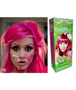 Hair COLOR Permanent Hair Dye Cream Punk Goth Emo Elf BRIGHT PINK J5 - $7.75