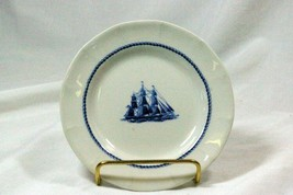 Wedgwood 1992 American Clipper Blue Game Cock Circa 1850 Bread Plate - $9.44