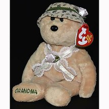 Nana The Grandma Bear Retired Ty Beanie Baby MWMT Collectible Ty Exclusive - $12.82