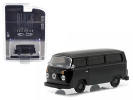 1978 Volkswagen Type 2 Bus Black B&it 1:64 Diecast Model Car by Greenlight - $14.27