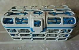 Munchkin Deluxe Dishwasher Basket For Pacifiers Nipples Baby Utensils Sm... - $8.97