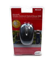 Microsoft Wireless Notebook Optical Mouse 3000, Slate Gray, NEW & SEALED... - $22.76