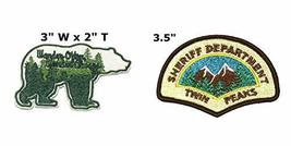 Wander Often Wander Always and Twin Peaks National Park Series 2-Pack Embroidere - $7.89