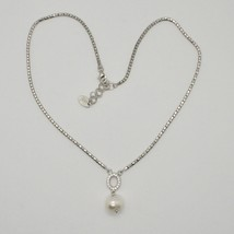 Gargantilla de Plata 925 Perlas Esperanza By Maria Ielpo Zirconia Hecho ... - $138.01