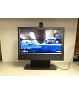 "Tandberg TTC7-15 20"" Video Conferencing System Cracked Plastic No AC Ada... - $45.00"