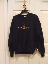 NWT jerzees  black  SAN DIEGO  SWEAT SHIRT XLARGE - $39.06 CAD