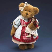 "Boyds Bears ""Sarah Beth Spangler w/Annie""  16"" Plush Bear- #4015933- New- 2009 - $89.99"