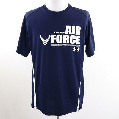 Primary image for Under Armour Heat Gear USAF Loose Fit Shirt Mens Sz XL