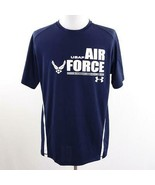Under Armour Heat Gear USAF Loose Fit Shirt Mens Sz XL - $38.60