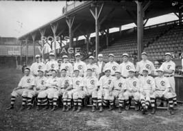 Chicago Cubs Baseball Team Photo 1908  National League - $8.90
