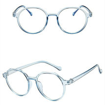 New Oval Fashion Classic Clear Lens Glasses Frame Retro Casual Daily Eyewear image 5