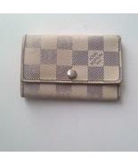 Authentic, Louis Vuitton, Damier Azuzr 6-Hooks Key Case 4.5in x 3in (CT5... - $94.95