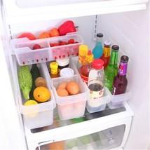Rectangular removable storage Box classification refrigerator drawers Box - €18,41 EUR