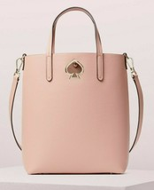 NWT Kate Spade Suzy Medium NS Crossbody Pink Leather PXRUA653 $298 Retai... - $124.99