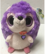"Aurora Yoo Hoo & Friends PURPLE HEDGEHOG KISSING SOUND 7.5"" Plush STUFFE... - $16.99"
