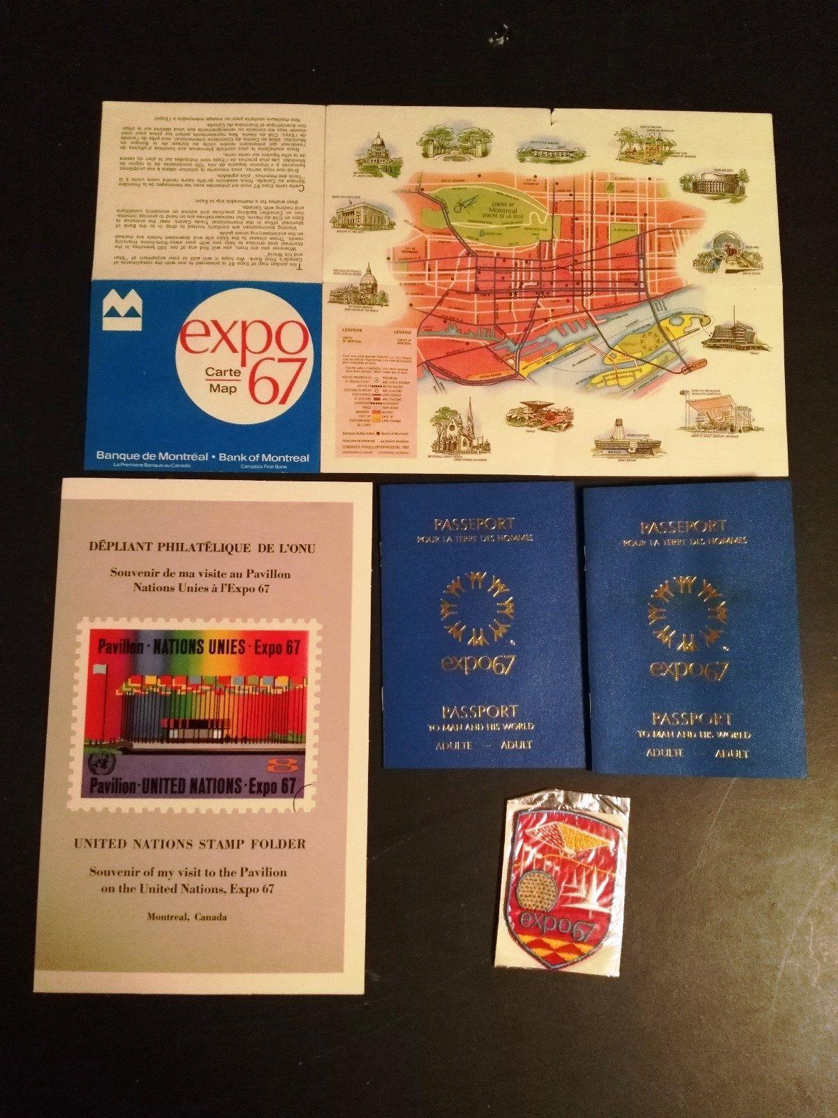 Montreal Expo 1967 Worlds Fair Memorabilia And Similar Items S L1600