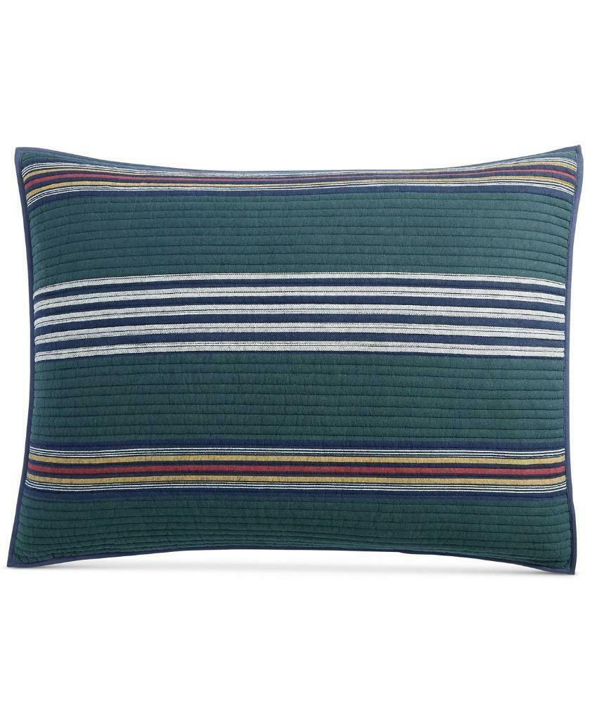 $60.00 Martha Stewart Collection  Lodge Yarn Dye Standard Sham - $14.50