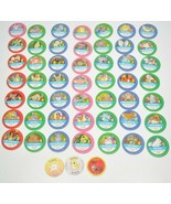 1999 Pokemon Master Trainer REPLACEMENT GAME CHIPS 52 PIECES LOT - $24.24