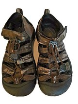 Keen Camo Rubberized Brown Sandals Cleaned and Ready to Wear Size 1 - $22.50