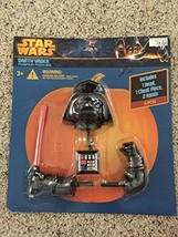 Darth Vader Pumpkin Push-in Star Wars Halloween Decoration - £19.10 GBP