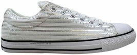 Converse Chuck Taylor All Star OX White/Silver 148372C Men's Size 11 - $80.00