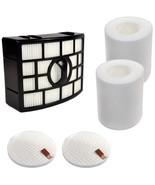 HQRP Filter Kit (HEPA+2xFoam &Felt) for Shark Rotator NV755 UV795 Uprigh... - $18.46