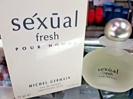 Sexual fresh pour homme Michel Germain EDT Toilette 2.5 oz 75 ml Spray M... - $76.99