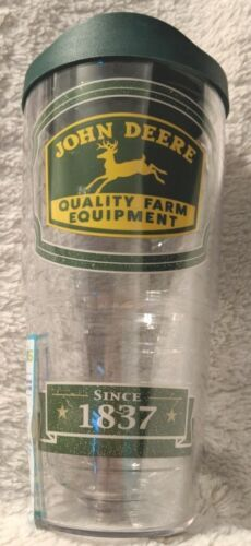 John Deere Quality Equipment Since 1837 Hot And Cold Green Tumbler