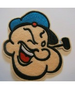 """Popeye the Sailor~Embroidered Patch~3 5/8"""" x 3 1/2""""~Cartoon~Iron or Sew On - $4.75"""
