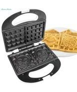 Emoji Universe: 2 Slice Emoji Waffle Maker, Waffle Iron - €27,68 EUR