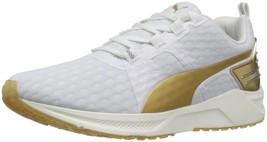 PUMA Women's Ignite XT V2 Gold Wns Cross-Trainer Shoe size 10 Puma White... - £75.40 GBP