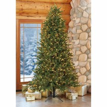 9′ft Pre-Lit LED Artificial Christmas Tree Surebright Dual Color EZ Connect NIOB image 2