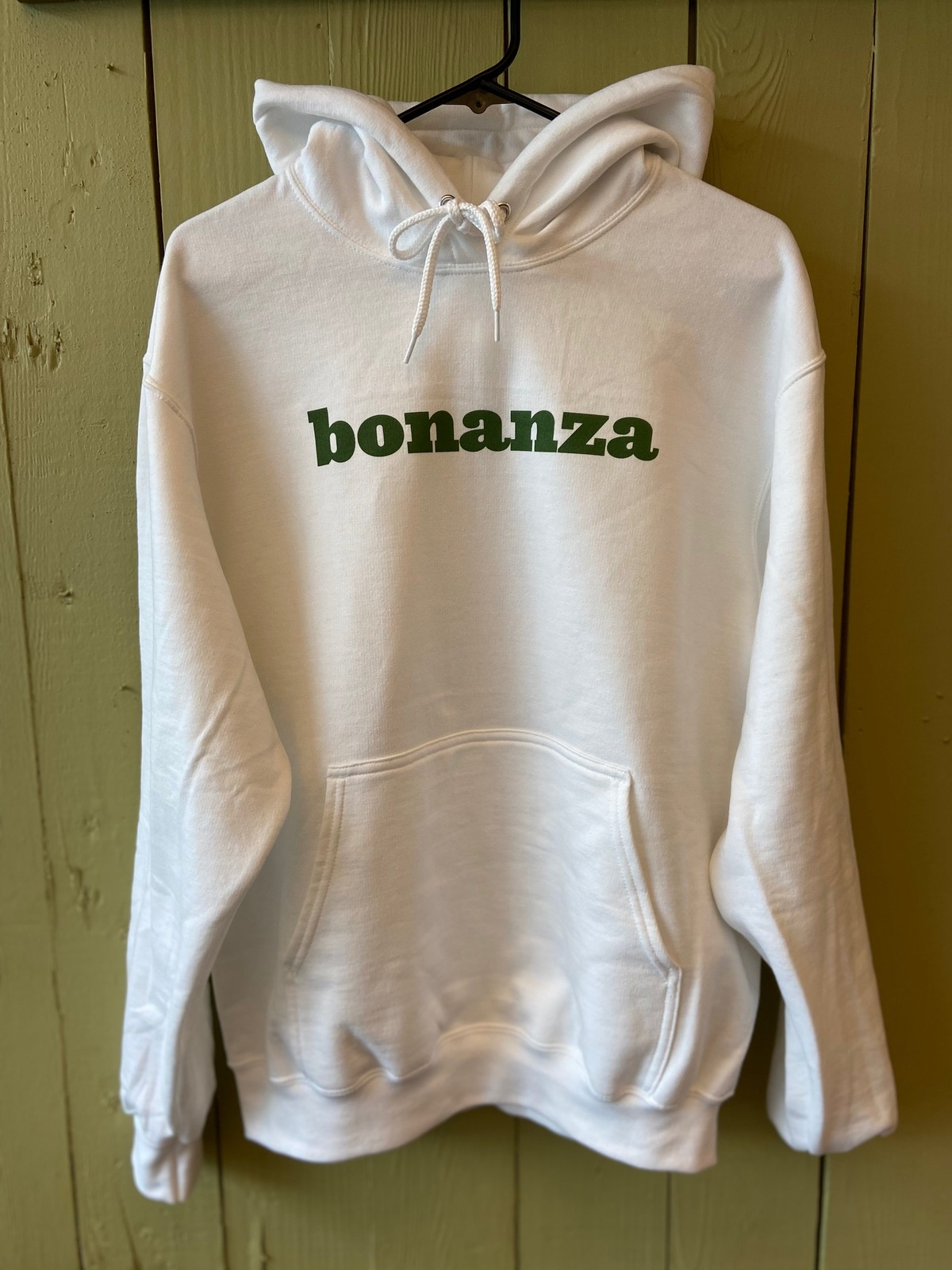 "Primary image for Classic Bonanza ""Everything But the Ordinary"" Pullover Hoodie (White)"