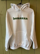 "Classic Bonanza ""Everything But the Ordinary"" Pullover Hoodie (White) - $18.00"