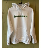 "Classic Bonanza ""Everything But the Ordinary"" Pullover Hoodie (White) - £13.21 GBP"