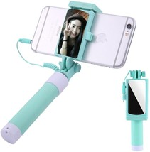 Aeeque Selfie Stick [No Bluetooth] Extendable Monopod Wired Selfie Stick... - €28,95 EUR