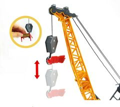Bandi Toys Construction Heavy Equipment Vehicle Car Crane Dump Truck Toy Set image 5