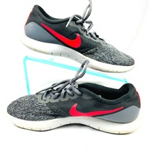NIKE Women's  sz 8.5 Gray Flex Contact Running Sneakers 908995-005 - $30.25